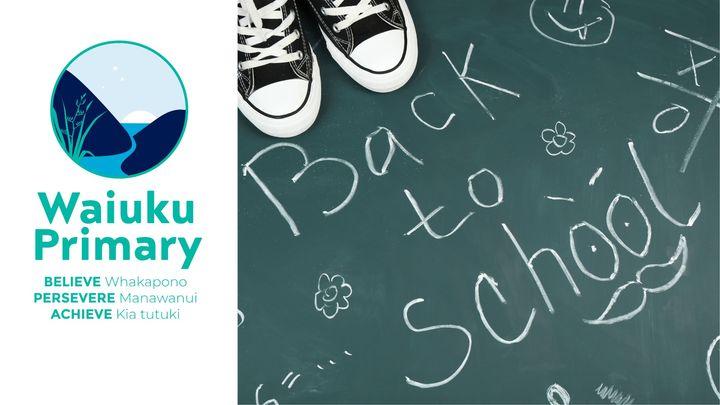 Welcome Back- School Starts 2021