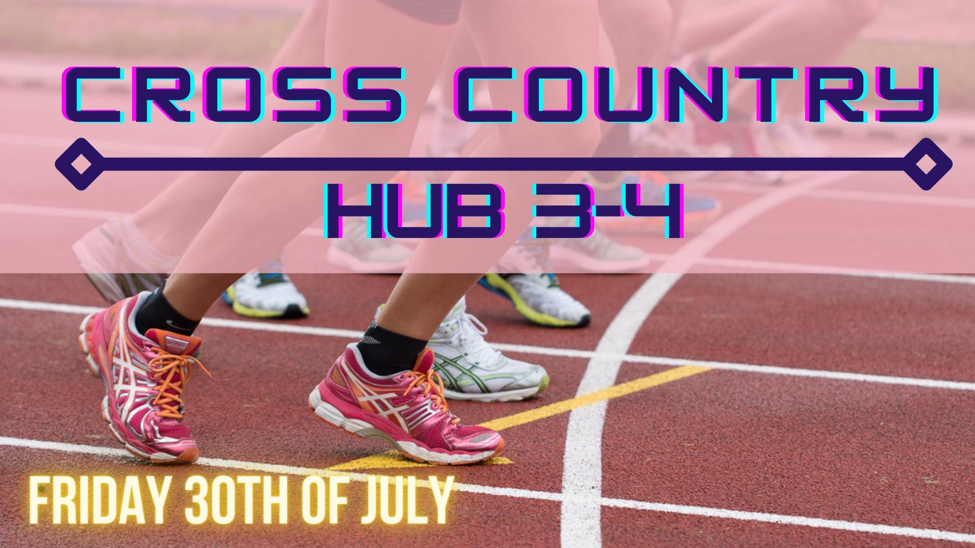Cross Country Hub 3-4
