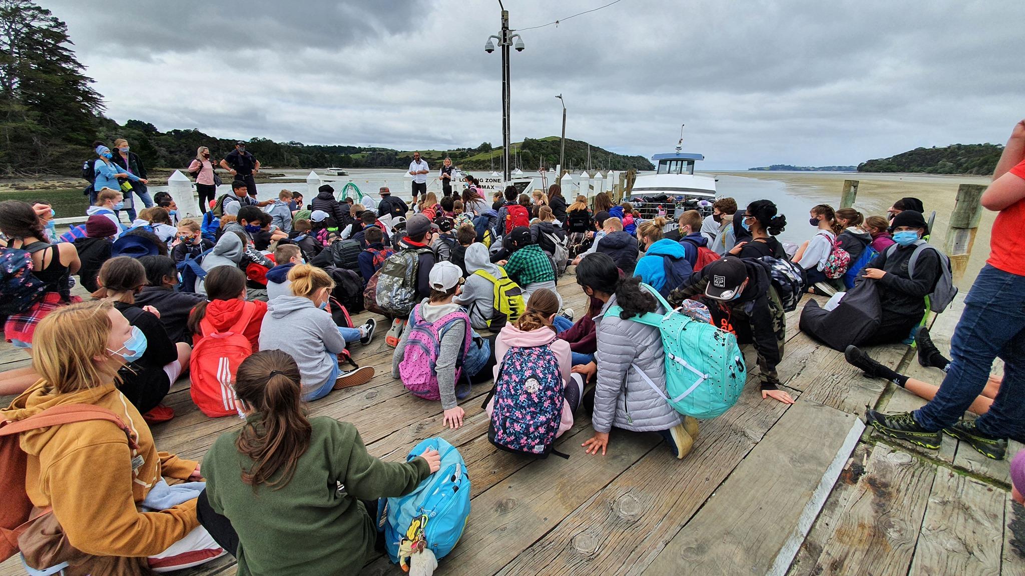 Year 7 and 8 Camp – 2022 – Camp Bentzon, Kawau Island